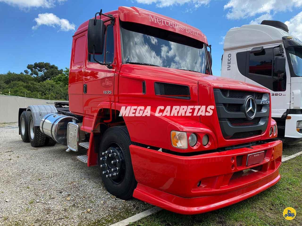 CAMINHAO MERCEDES-BENZ MB 1635 Cavalo Mecânico Truck 6x2 Mega Carretas COLOMBO PARANÁ PR