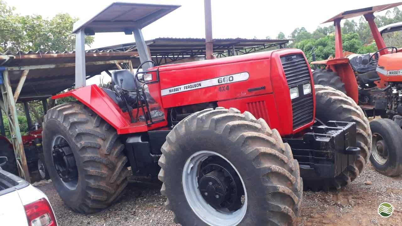 TRATOR MASSEY FERGUSON MF 660 Tração 4x4 Tratorama Máquinas e Implementos UMUARAMA PARANÁ PR