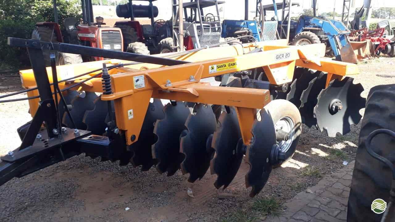 IMPLEMENTOS AGRICOLAS GRADE INTERMEDIÁRIA INTERMEDIÁRIA 20 DISCOS Tratorama Máquinas e Implementos UMUARAMA PARANÁ PR