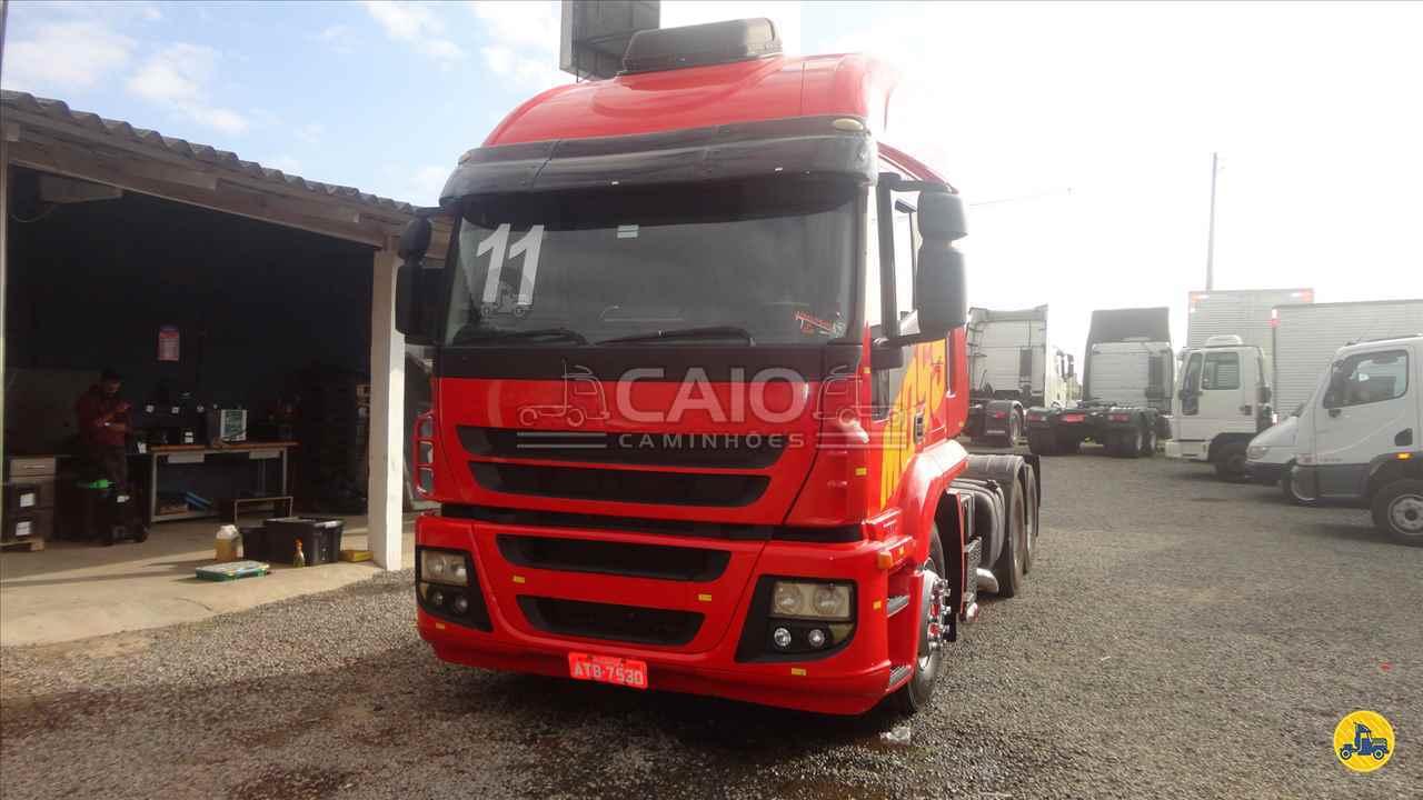 CAMINHAO IVECO STRALIS 410 Cavalo Mecânico Truck 6x2 Caio Caminhões SAO JOSE DOS PINHAIS PARANÁ PR