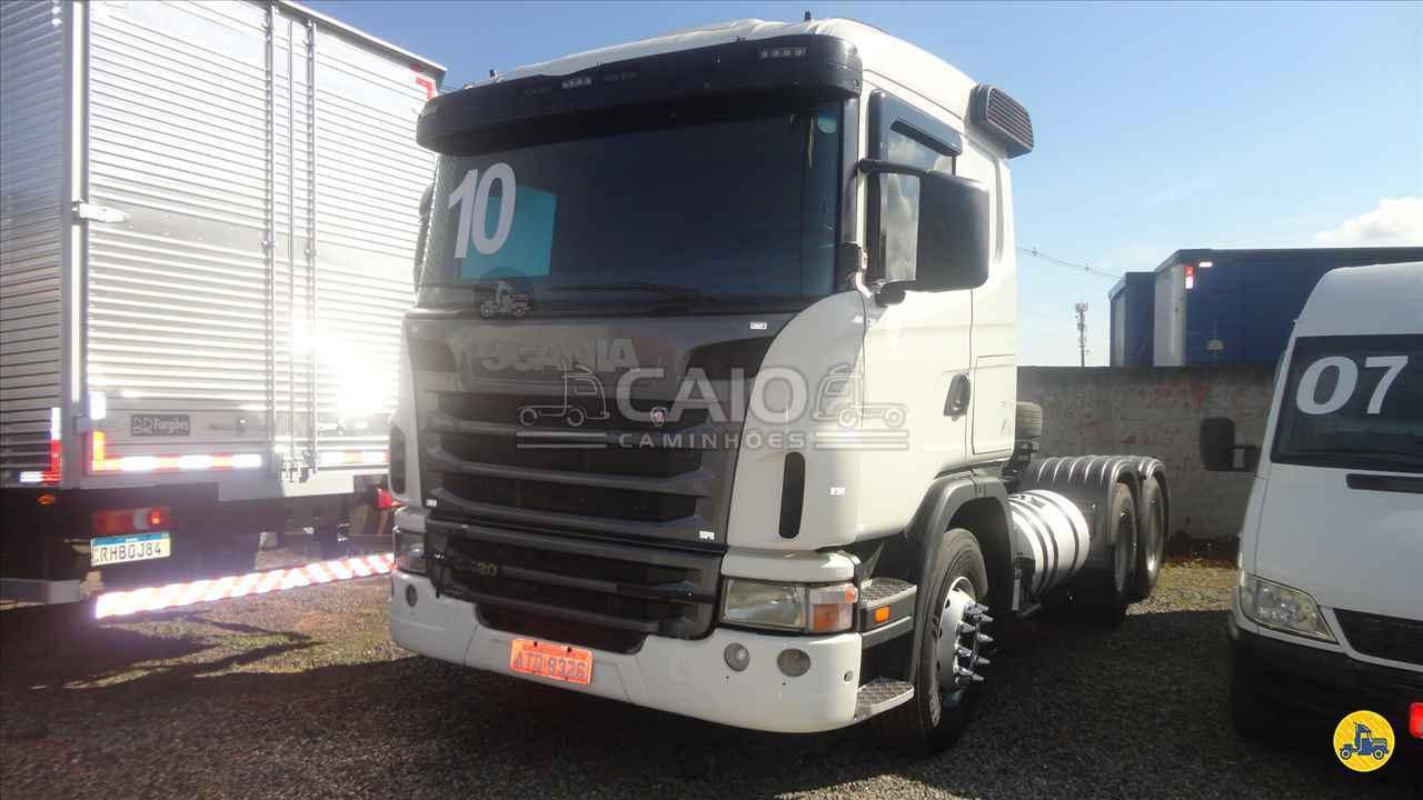 CAMINHAO SCANIA SCANIA 420 Cavalo Mecânico Truck 6x2 Caio Caminhões SAO JOSE DOS PINHAIS PARANÁ PR