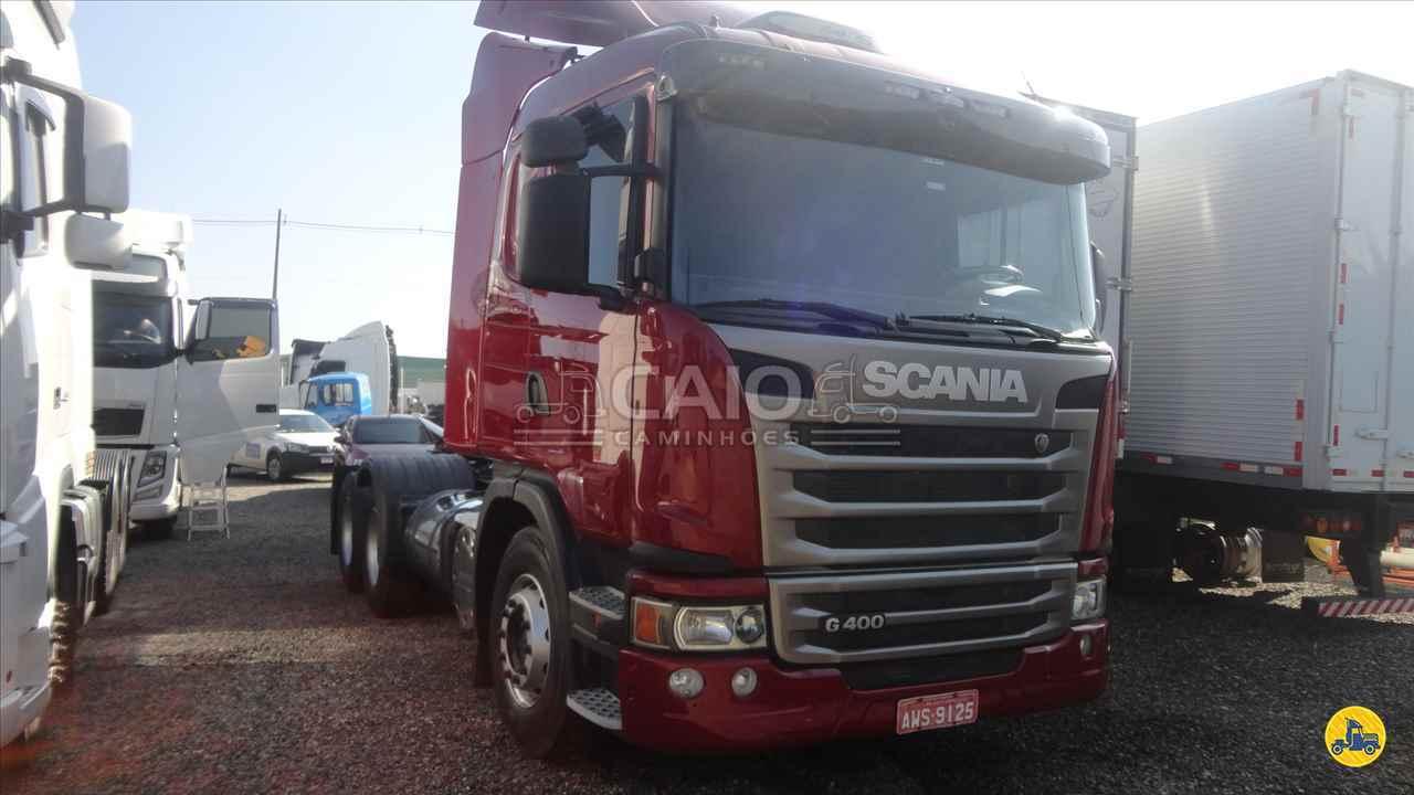CAMINHAO SCANIA SCANIA 400 Cavalo Mecânico Truck 6x2 Caio Caminhões SAO JOSE DOS PINHAIS PARANÁ PR