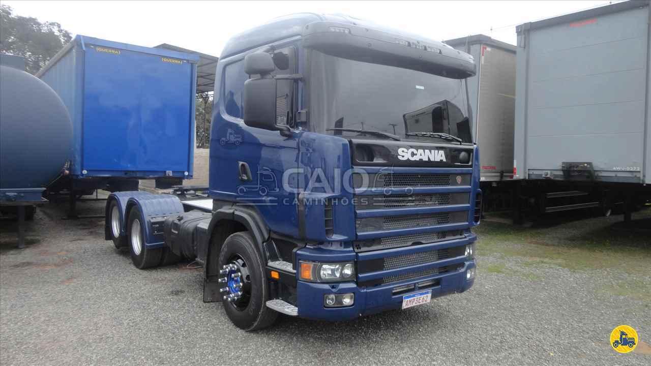 CAMINHAO SCANIA SCANIA 124 420 Cavalo Mecânico Truck 6x2 Caio Caminhões SAO JOSE DOS PINHAIS PARANÁ PR