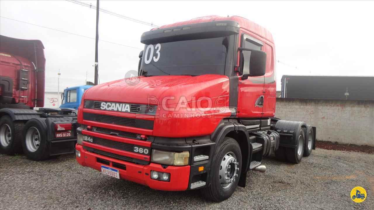 SCANIA 124 360 de Caio Caminhões - SAO JOSE DOS PINHAIS/PR