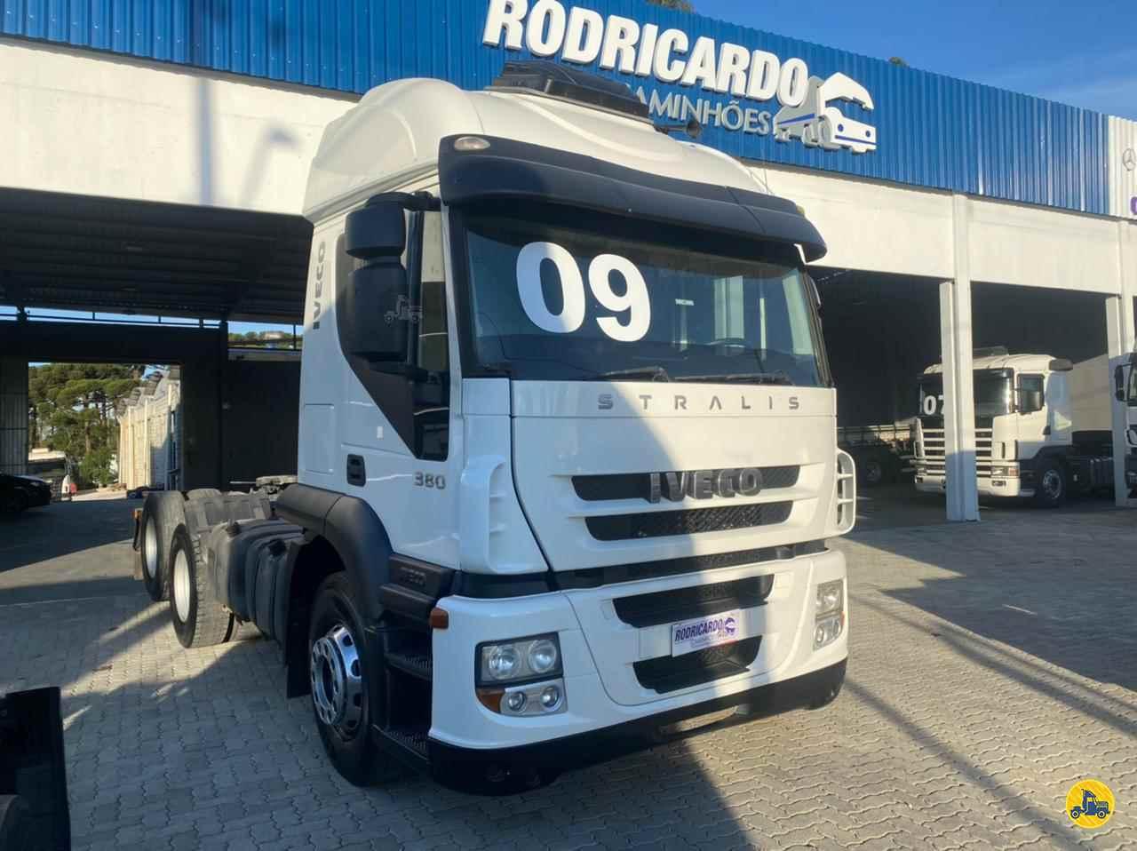 CAMINHAO IVECO STRALIS 380 Cavalo Mecânico Truck 6x2 Rodricardo Caminhões COLOMBO PARANÁ PR