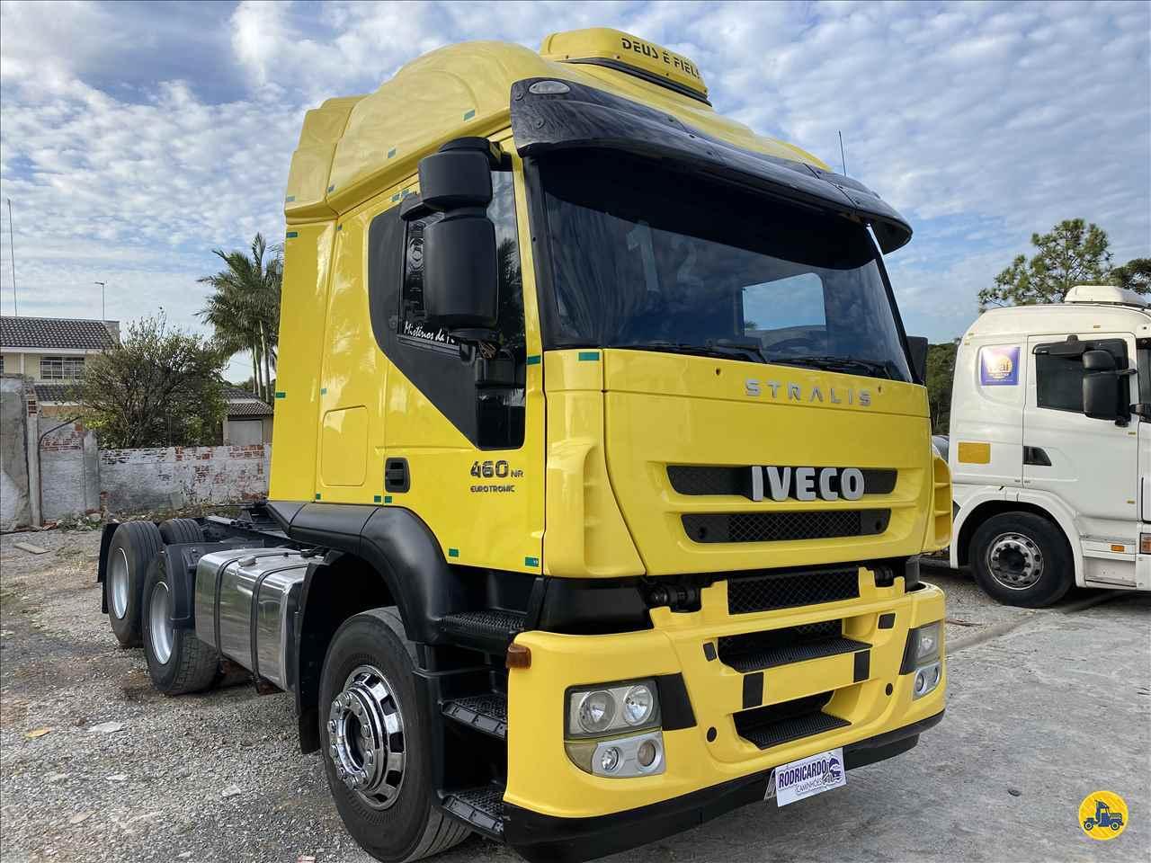 CAMINHAO IVECO STRALIS 460 Cavalo Mecânico Truck 6x2 Rodricardo Caminhões COLOMBO PARANÁ PR