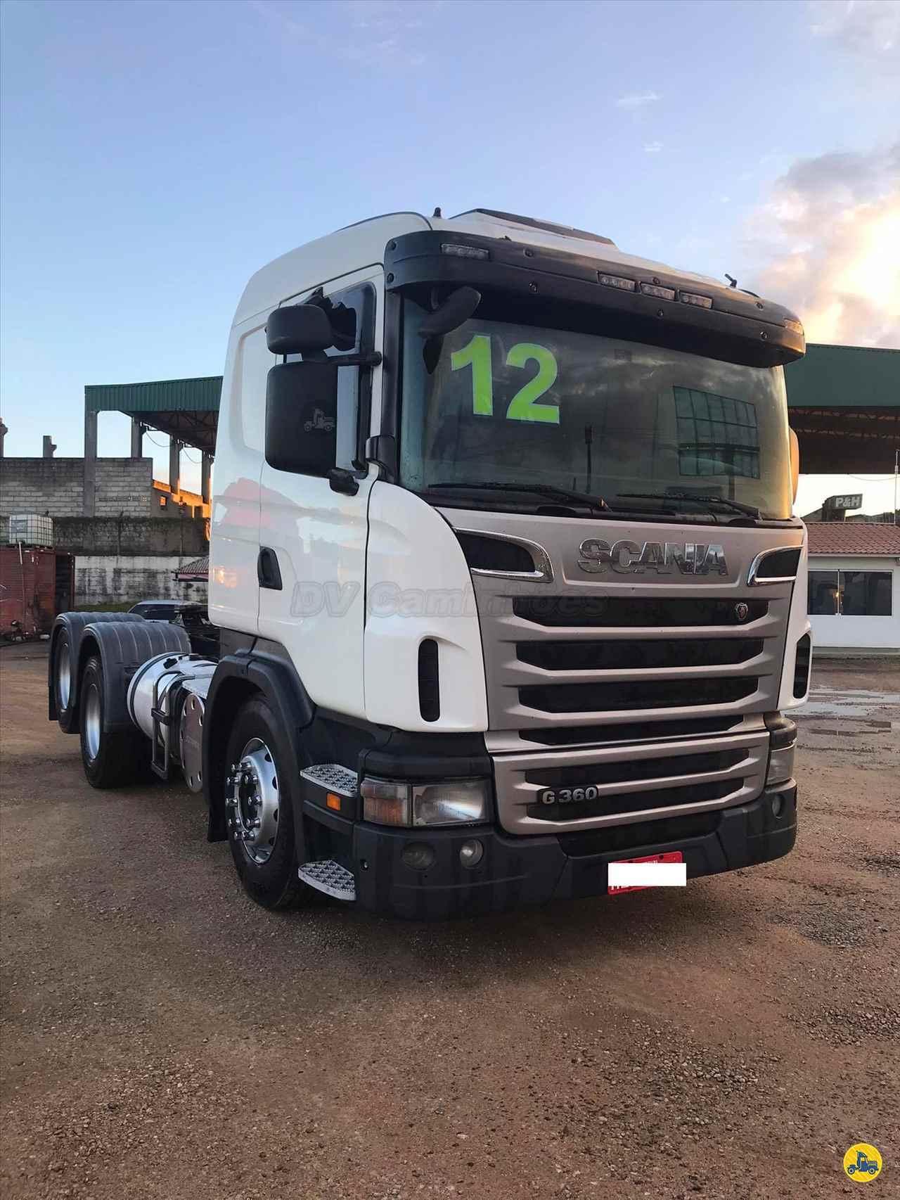 CAMINHAO SCANIA SCANIA 360 Cavalo Mecânico Truck 6x2 DV Caminhões ICARA SANTA CATARINA SC