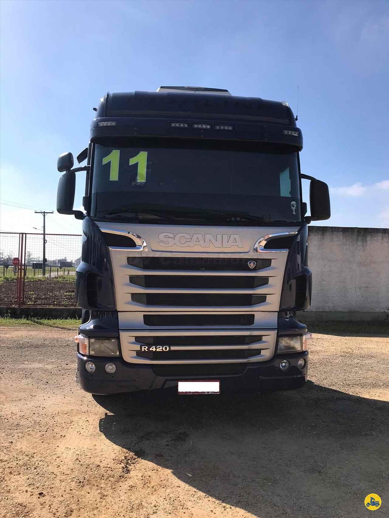 CAMINHAO SCANIA SCANIA 420 Cavalo Mecânico Truck 6x2 DV Caminhões ICARA SANTA CATARINA SC