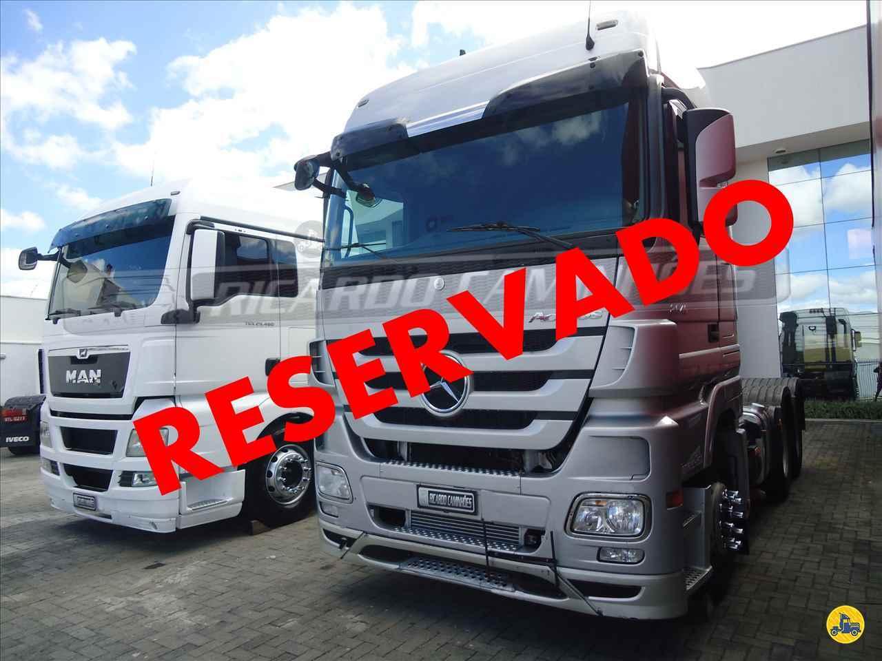 CAMINHAO MERCEDES-BENZ MB 2646 Cavalo Mecânico Traçado 6x4 Ricardo Caminhões Curitiba CURITIBA PARANÁ PR