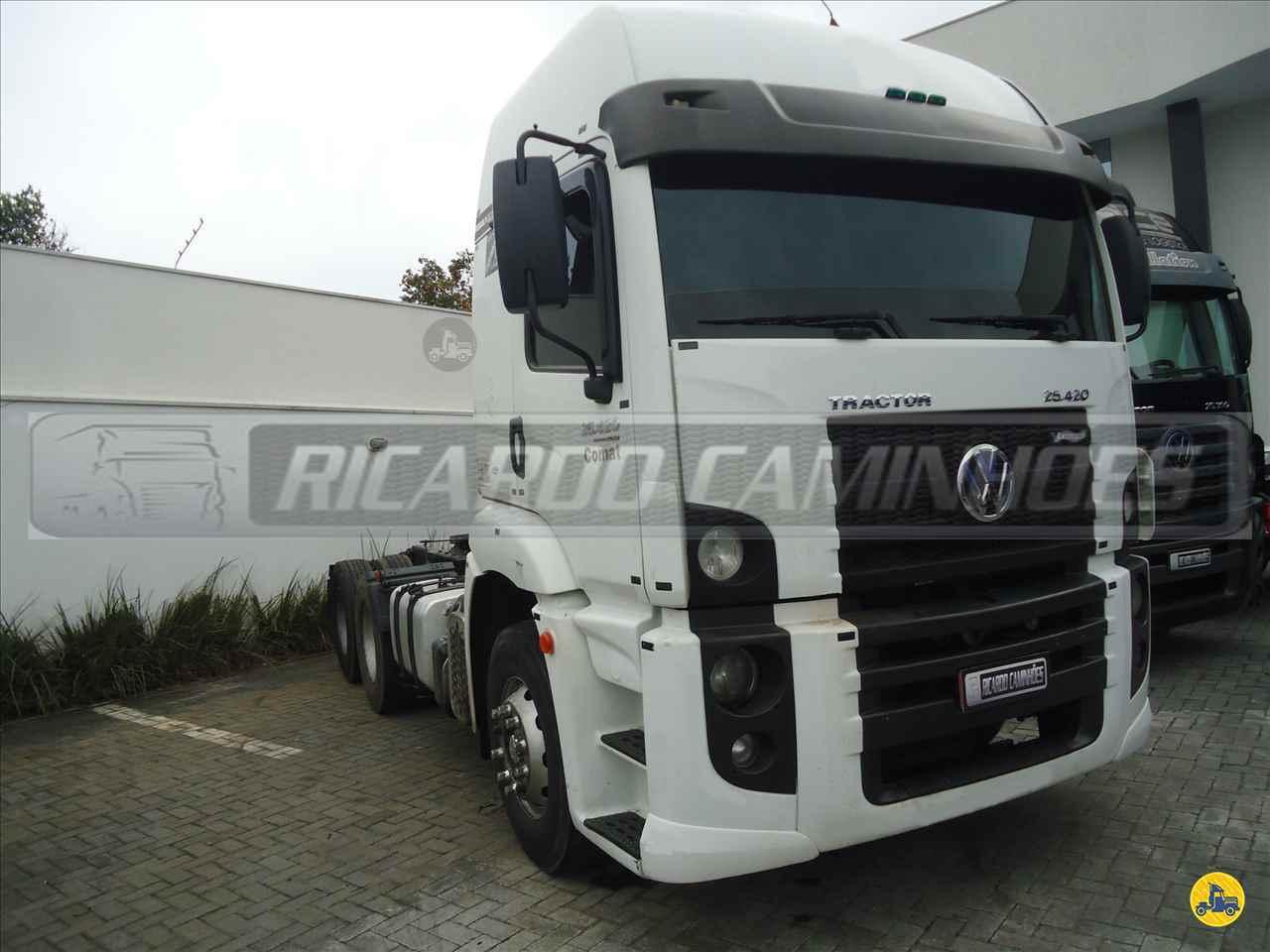 CAMINHAO VOLKSWAGEN VW 25420 Cavalo Mecânico Truck 6x2 Ricardo Caminhões Curitiba CURITIBA PARANÁ PR