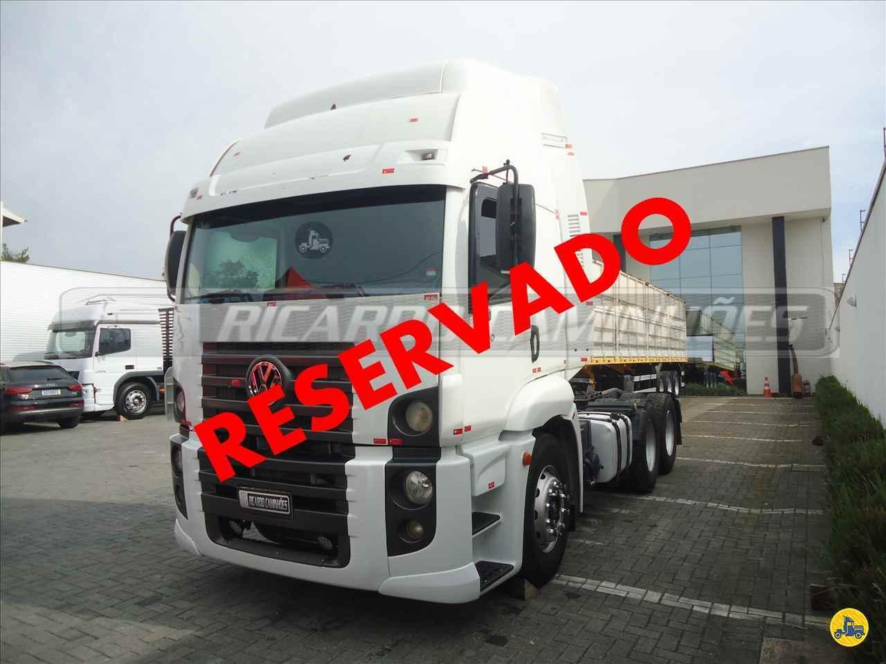 CAMINHAO VOLKSWAGEN VW 25390 Cavalo Mecânico Truck 6x2 Ricardo Caminhões Curitiba CURITIBA PARANÁ PR