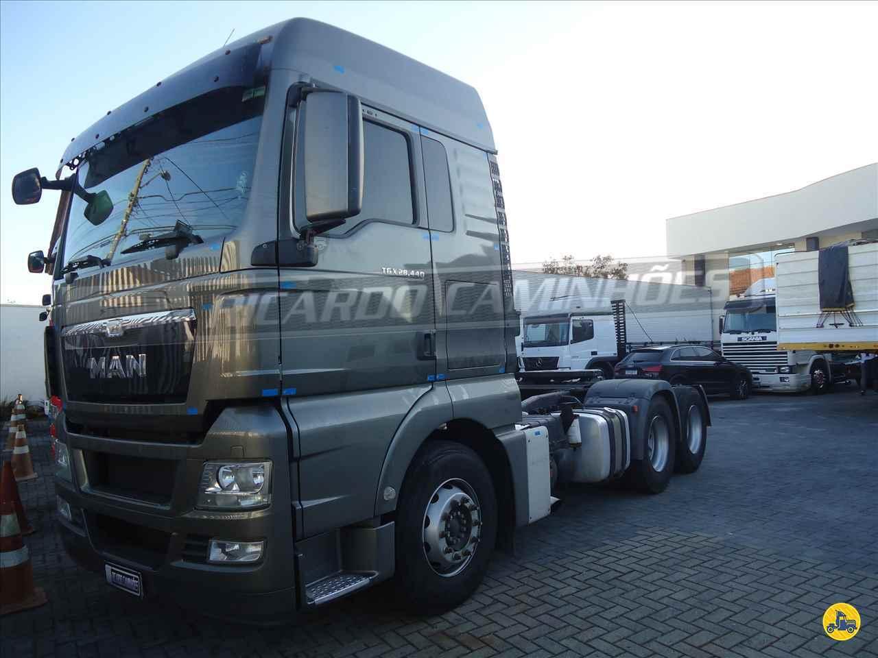 CAMINHAO MAN TGX 28 440 Cavalo Mecânico Truck 6x2 Ricardo Caminhões Curitiba CURITIBA PARANÁ PR