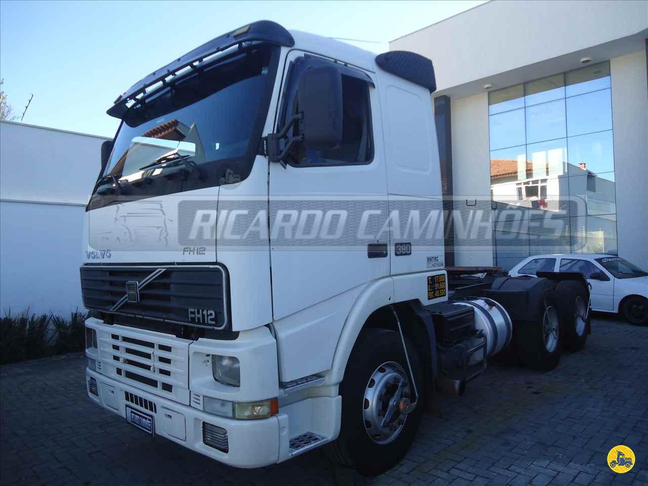 CAMINHAO VOLVO VOLVO FH12 380 Cavalo Mecânico Truck 6x2 Ricardo Caminhões Curitiba CURITIBA PARANÁ PR