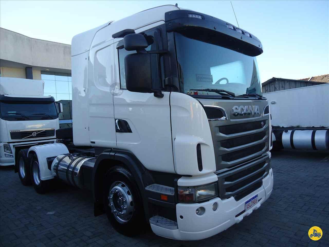 CAMINHAO SCANIA SCANIA 124 420 Cavalo Mecânico Truck 6x2 Ricardo Caminhões Curitiba CURITIBA PARANÁ PR