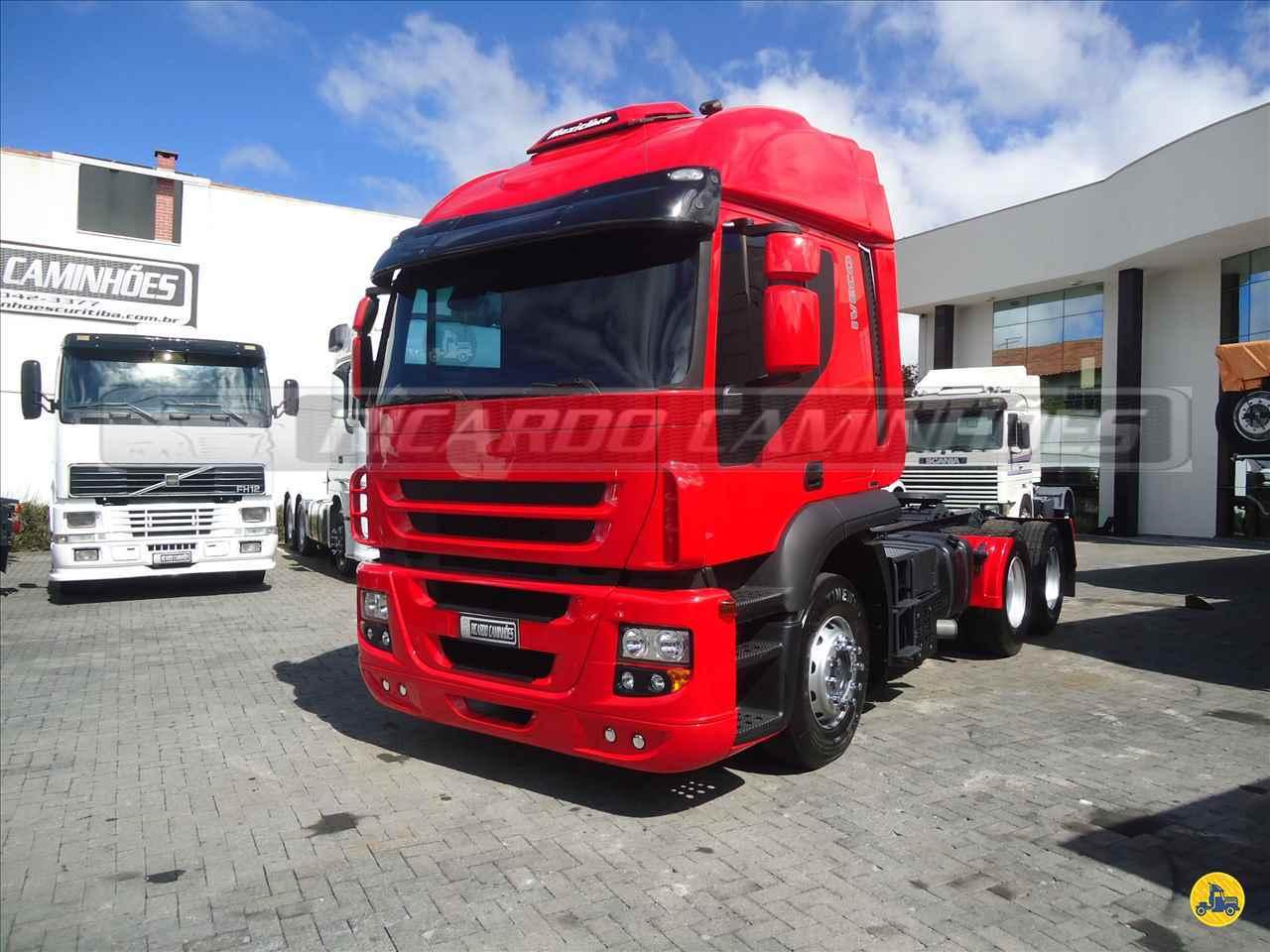 CAMINHAO IVECO STRALIS 410 Cavalo Mecânico Truck 6x2 Ricardo Caminhões Curitiba CURITIBA PARANÁ PR