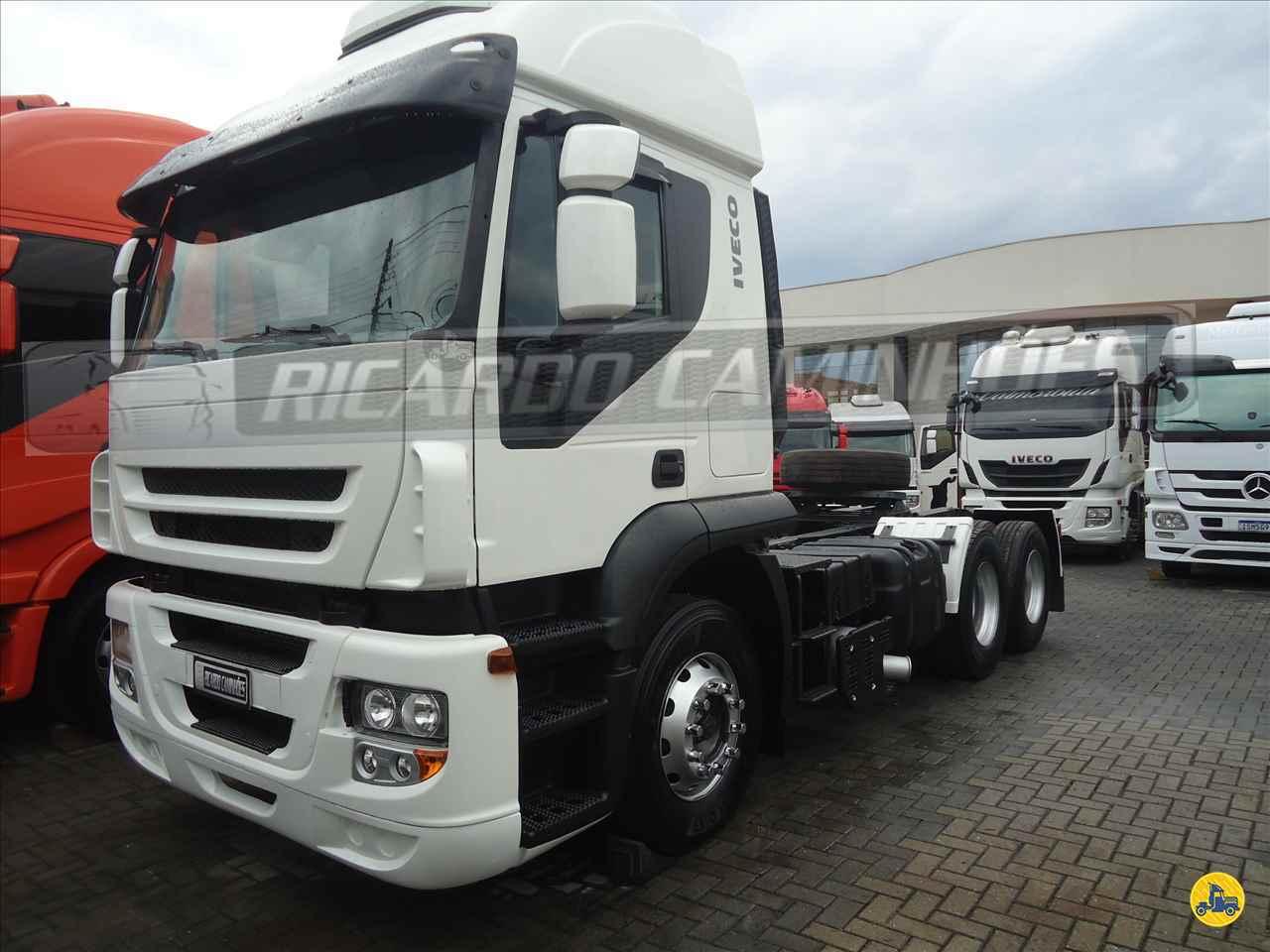 CAMINHAO IVECO STRALIS 380 Cavalo Mecânico Truck 6x2 Ricardo Caminhões Curitiba CURITIBA PARANÁ PR