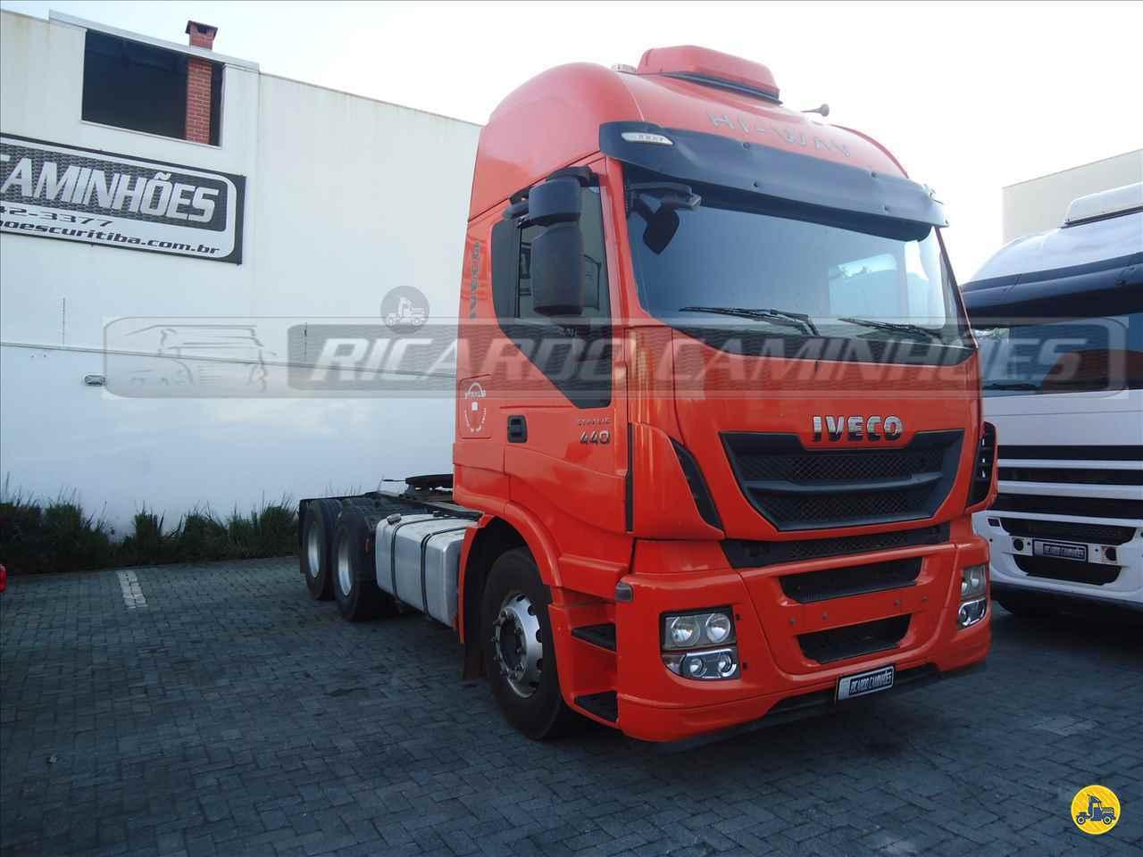 CAMINHAO IVECO STRALIS 440 Cavalo Mecânico Truck 6x2 Ricardo Caminhões Curitiba CURITIBA PARANÁ PR