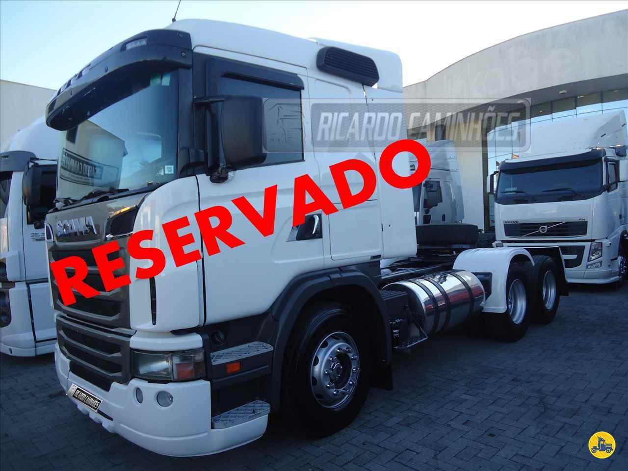 CAMINHAO SCANIA SCANIA 420 Cavalo Mecânico Truck 6x2 Ricardo Caminhões Curitiba CURITIBA PARANÁ PR