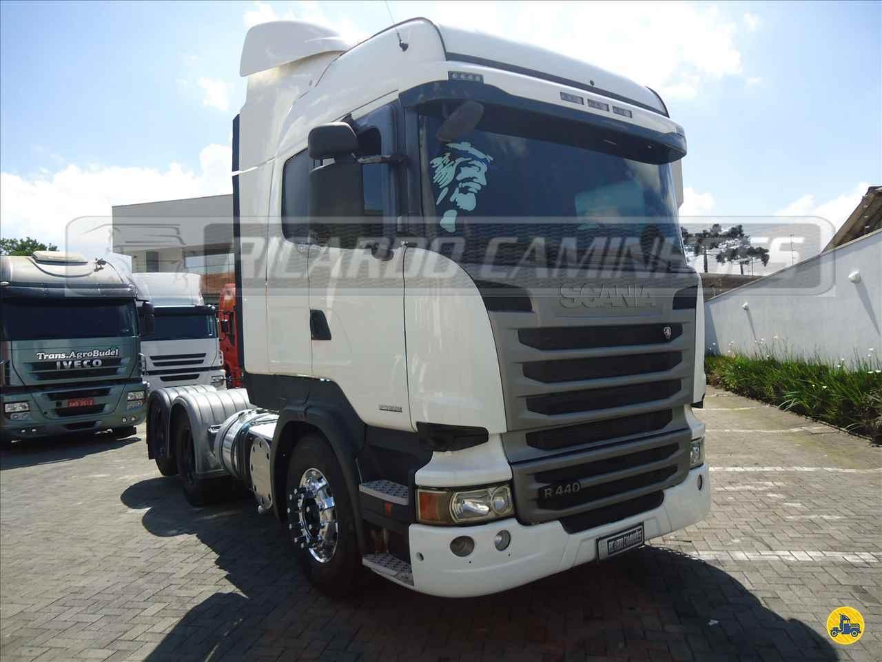 CAMINHAO SCANIA SCANIA 440 Cavalo Mecânico Truck 6x2 Ricardo Caminhões Curitiba CURITIBA PARANÁ PR
