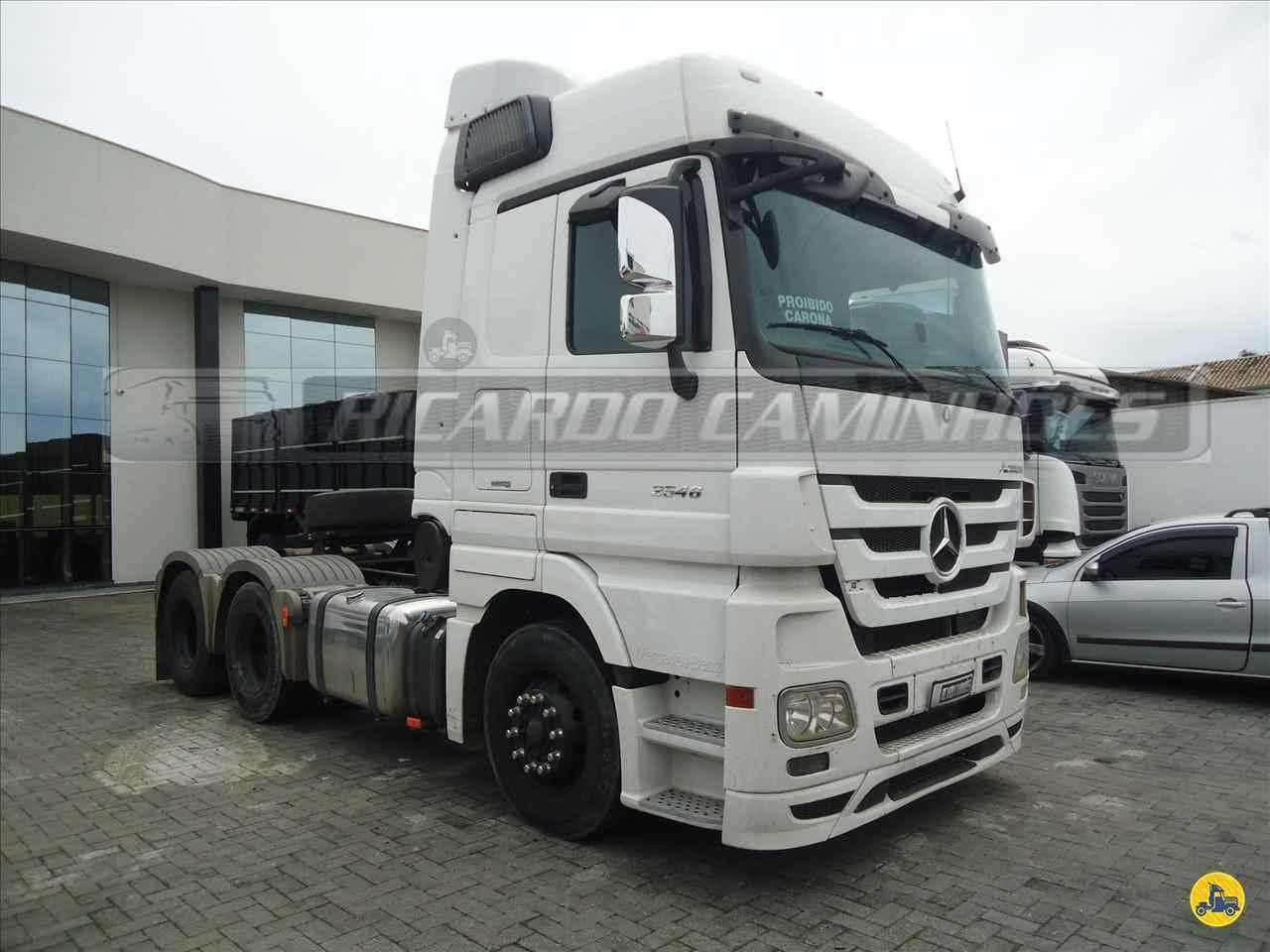 CAMINHAO MERCEDES-BENZ MB 2546 Cavalo Mecânico Truck 6x2 Ricardo Caminhões Curitiba CURITIBA PARANÁ PR
