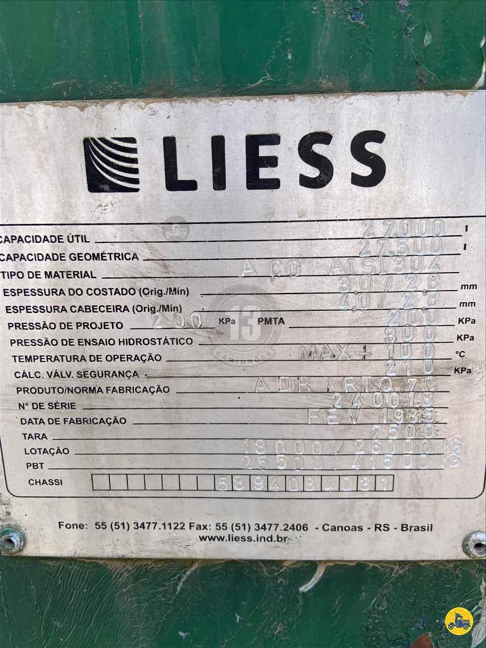 SEMI-REBOQUE TANQUE ISOTERMICO  1985/1985 13 Caminhões