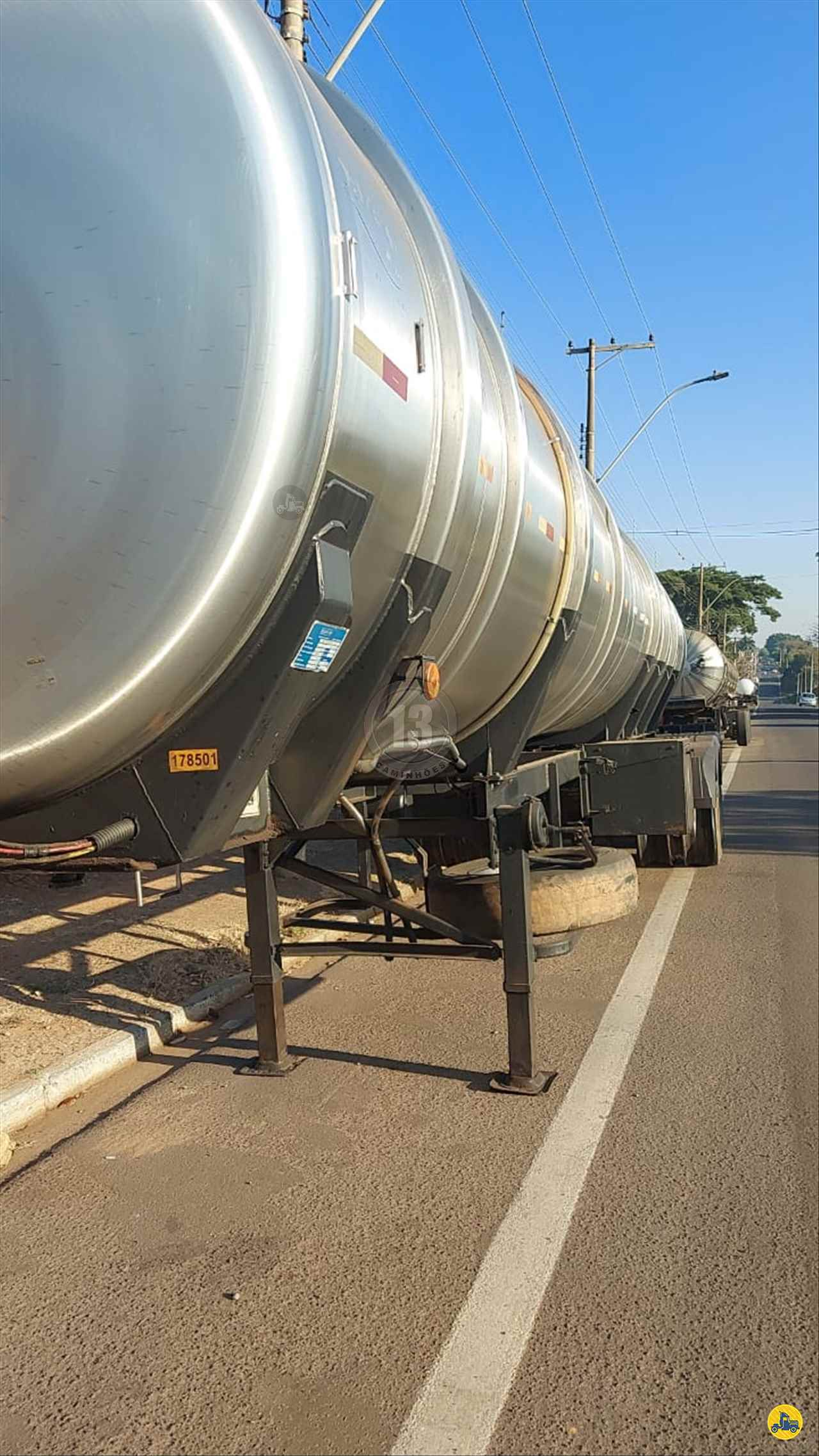 CARRETA SEMI-REBOQUE TANQUE INOX 13 Caminhões ARACATUBA SÃO PAULO SP