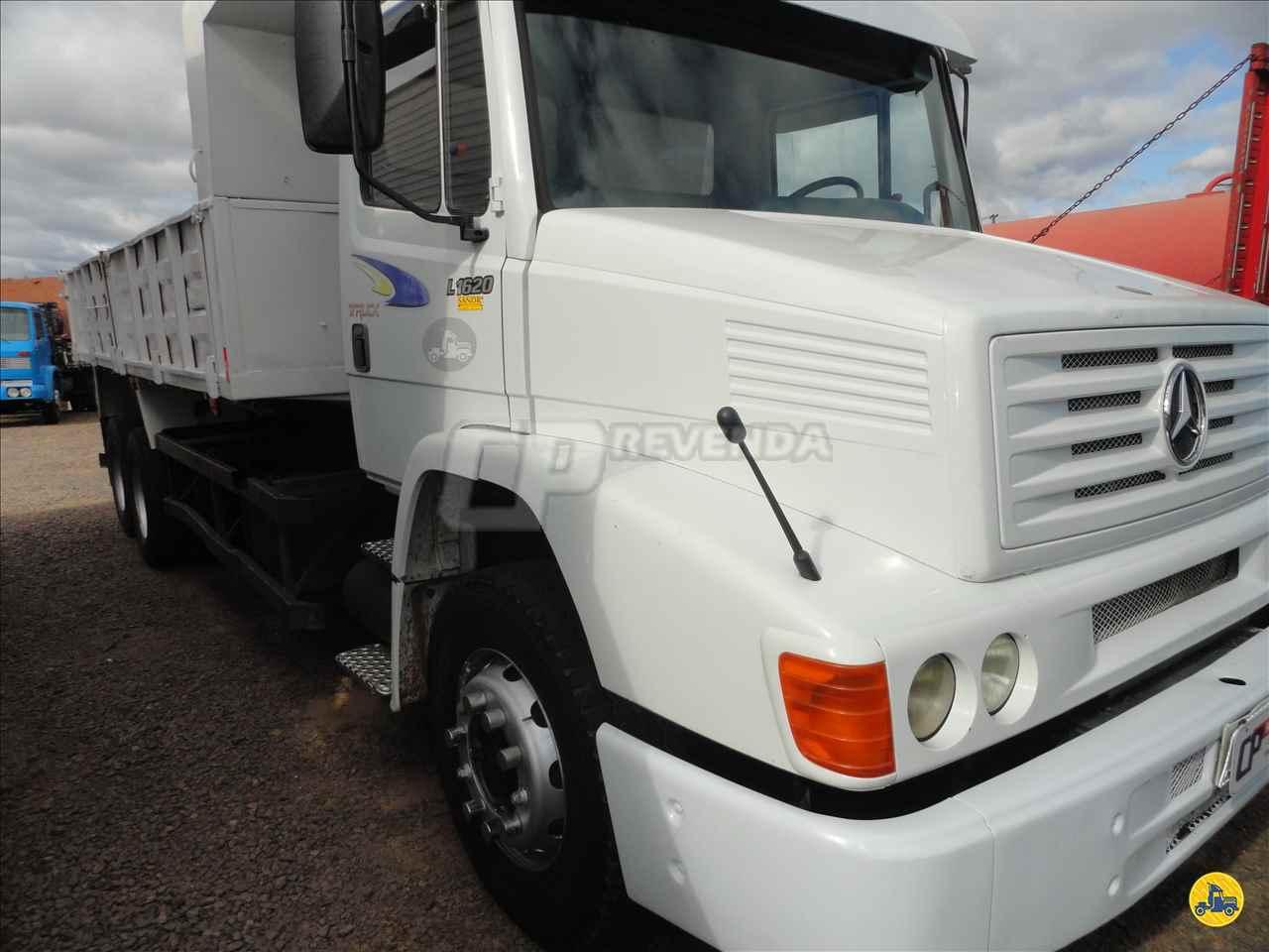 CAMINHAO MERCEDES-BENZ MB 1620 Caçamba Basculante Truck 6x2 CP Revenda BOM PRINCIPIO RIO GRANDE DO SUL RS