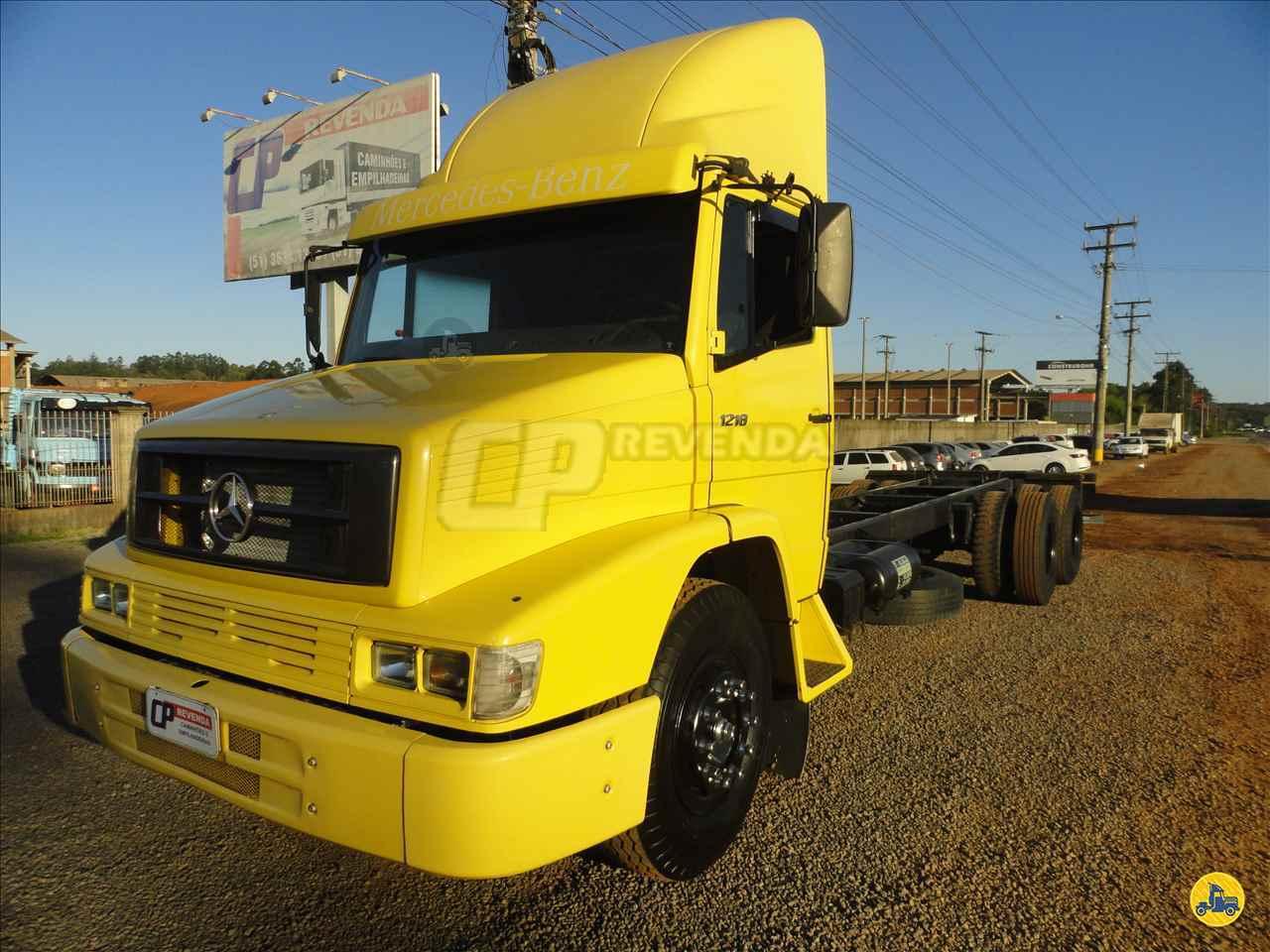 CAMINHAO MERCEDES-BENZ MB 1218 Chassis Truck 6x2 CP Revenda BOM PRINCIPIO RIO GRANDE DO SUL RS