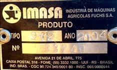 IMASA PLANTUM 912  2004/2004 Gobo Implementos Agrícolas