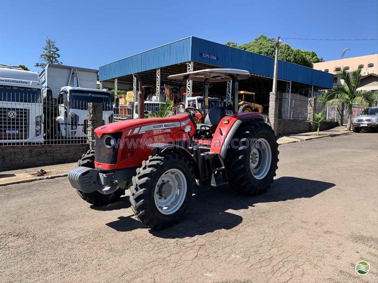 TRATOR MASSEY FERGUSON MF 4275 Tração 4x4 Comatral Caminhões e Máquinas Agrícolas PANAMBI RIO GRANDE DO SUL RS