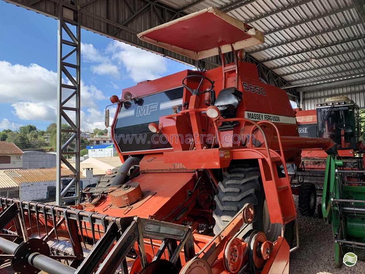 COLHEITADEIRA MASSEY FERGUSON MF 5650 Comatral Caminhões e Máquinas Agrícolas PANAMBI RIO GRANDE DO SUL RS