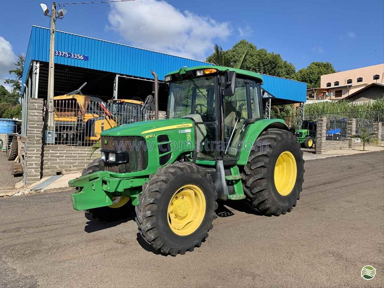 TRATOR JOHN DEERE JOHN DEERE 6110 Tração 4x4 Comatral Caminhões e Máquinas Agrícolas PANAMBI RIO GRANDE DO SUL RS