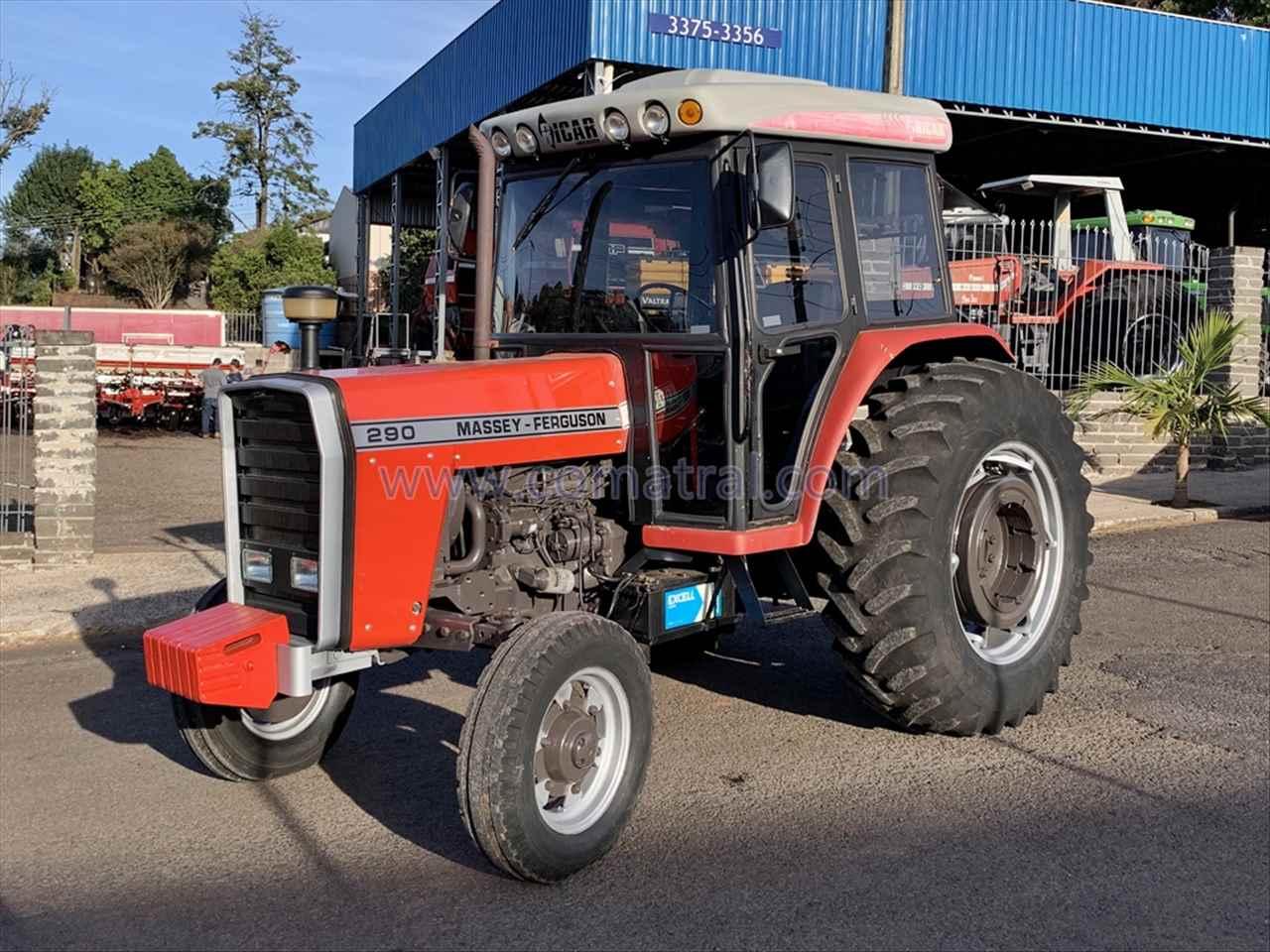 TRATOR MASSEY FERGUSON MF 290 Tração 4x2 Comatral Caminhões e Máquinas Agrícolas PANAMBI RIO GRANDE DO SUL RS