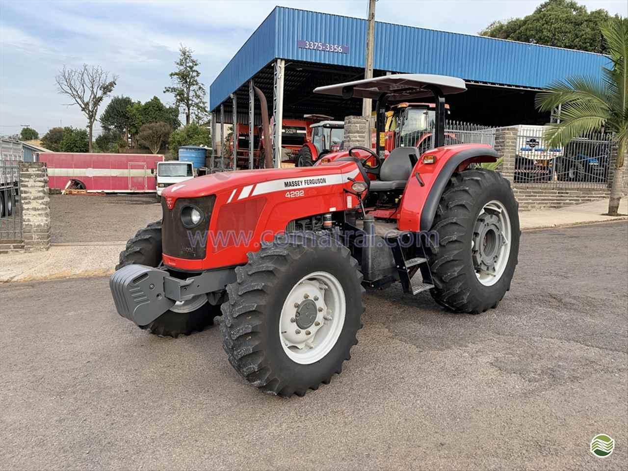 TRATOR MASSEY FERGUSON MF 4292 Tração 4x4 Comatral Caminhões e Máquinas Agrícolas PANAMBI RIO GRANDE DO SUL RS