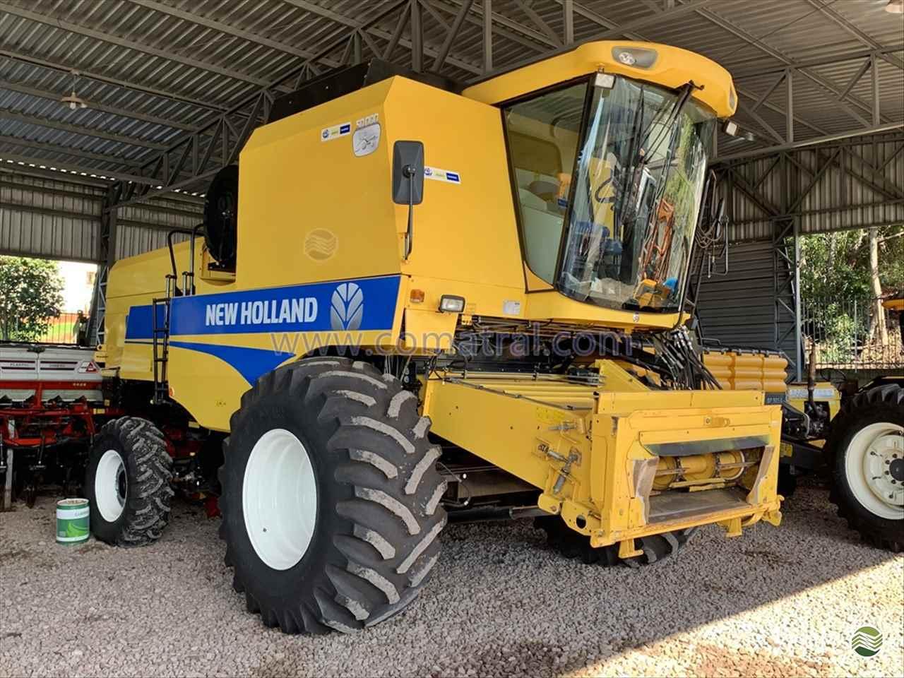COLHEITADEIRA NEW HOLLAND TC 5090 Comatral Caminhões e Máquinas Agrícolas PANAMBI RIO GRANDE DO SUL RS
