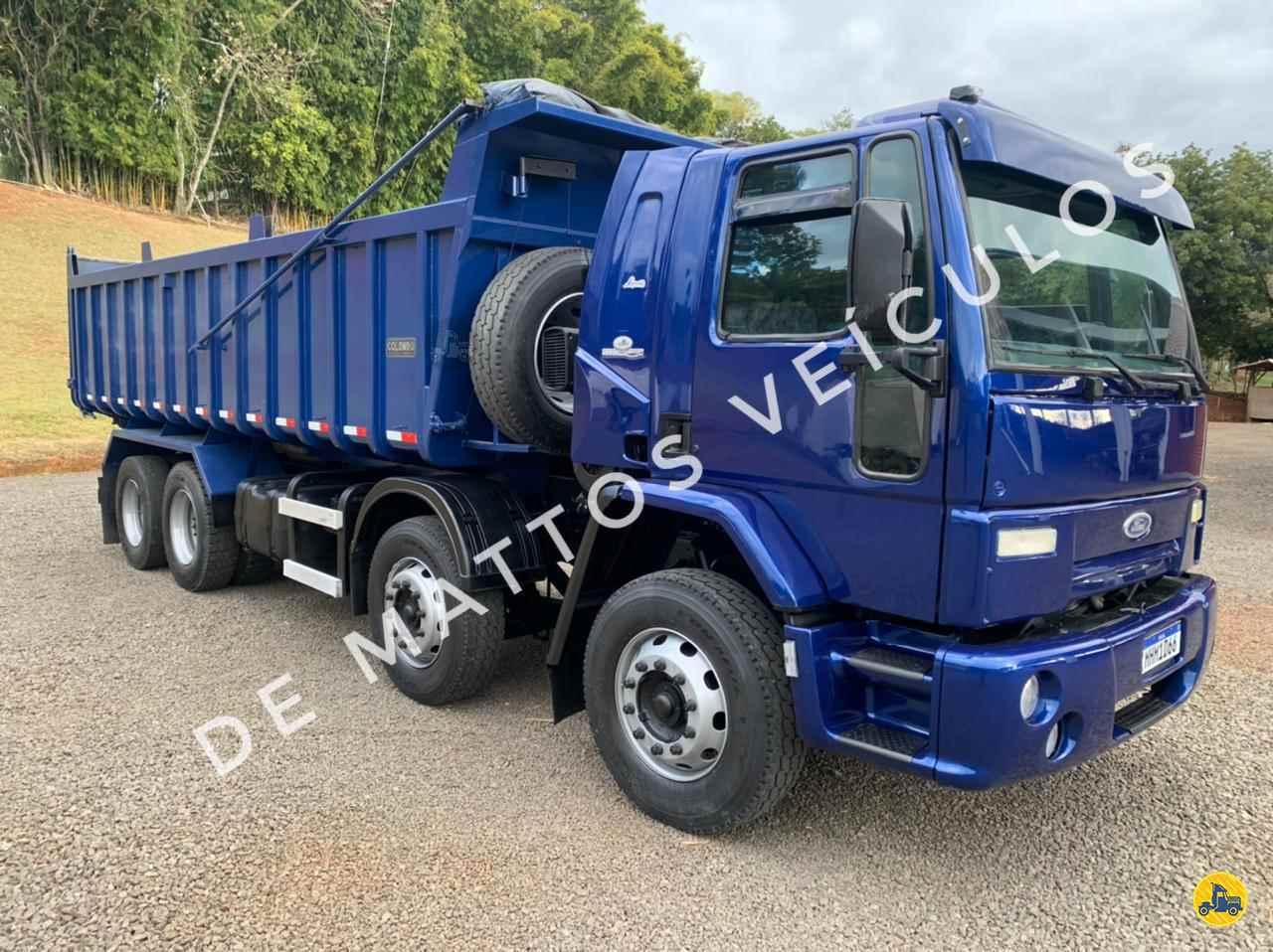 CAMINHAO FORD CARGO 2428 Caçamba Basculante BiTruck 8x2 De Mattos Veículos TUCUNDUVA RIO GRANDE DO SUL RS