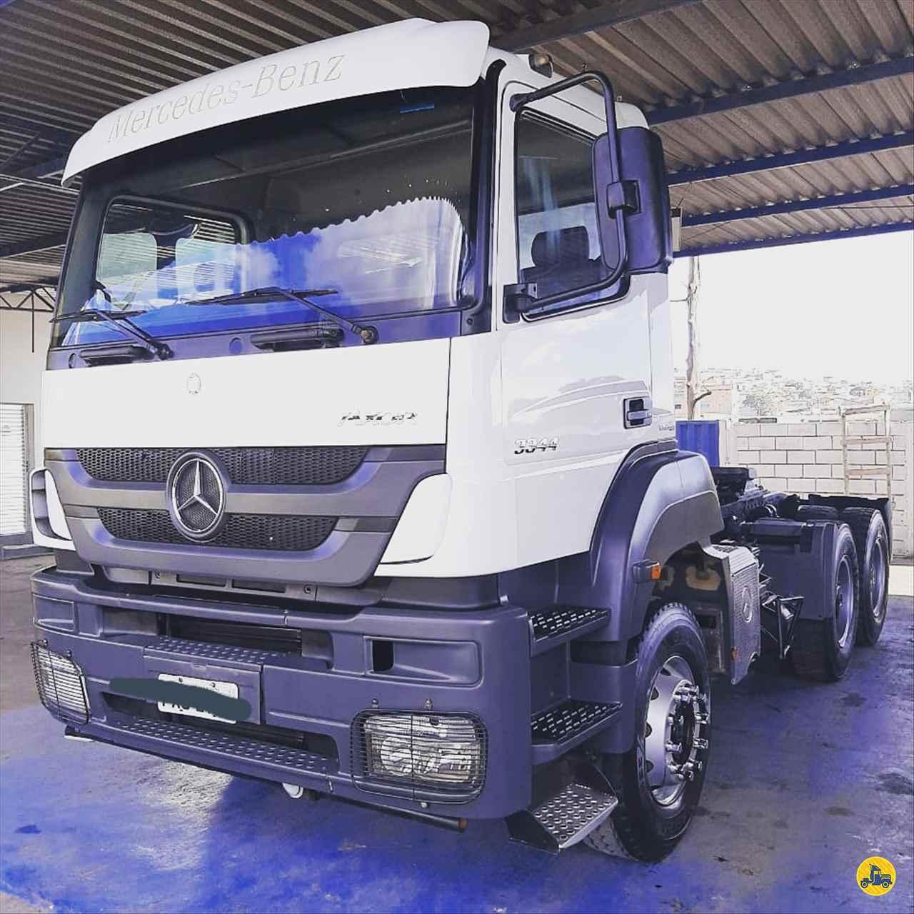 CAMINHAO MERCEDES-BENZ MB 3344 Cavalo Mecânico Traçado 6x4 Caminhões Certos CONTAGEM MINAS GERAIS MG