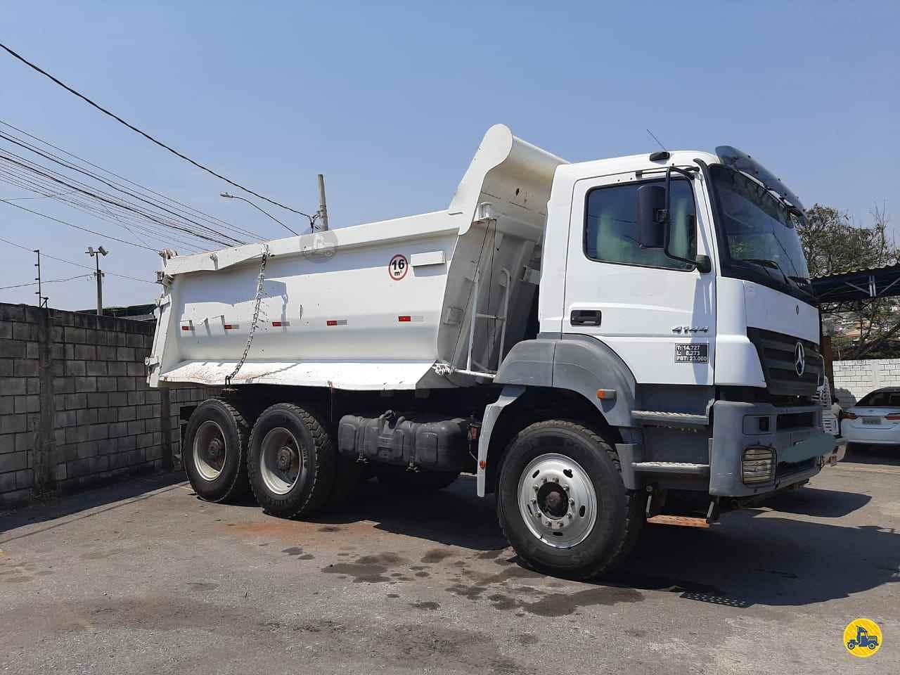 CAMINHAO MERCEDES-BENZ MB 4144 Caçamba Basculante Traçado 6x4 Caminhões Certos CONTAGEM MINAS GERAIS MG