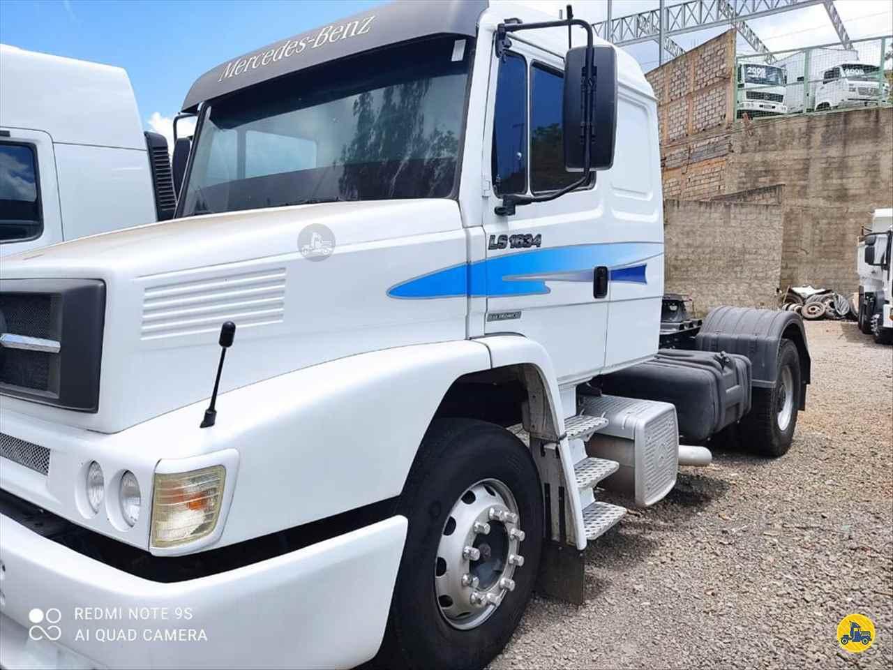 CAMINHAO MERCEDES-BENZ MB 1634 Cavalo Mecânico Toco 4x2 Caminhões Certos CONTAGEM MINAS GERAIS MG
