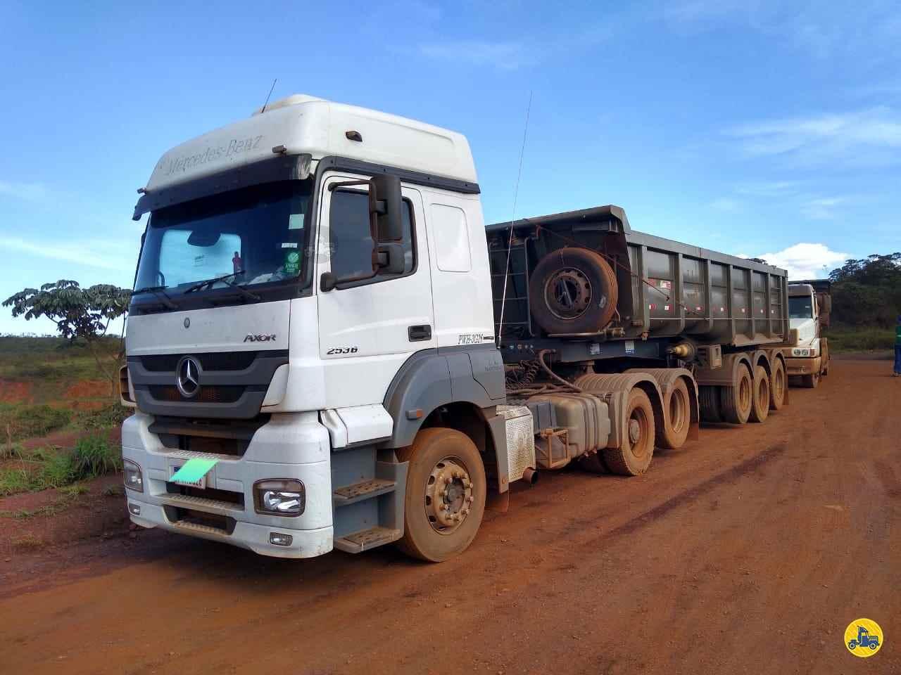 MERCEDES-BENZ MB 2536 345km 2016/2016 Caminhões Certos