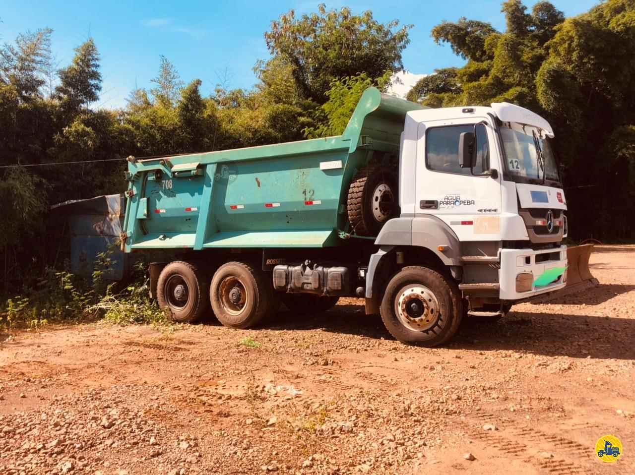 MERCEDES-BENZ MB 3340 123km 2006/2006 Caminhões Certos