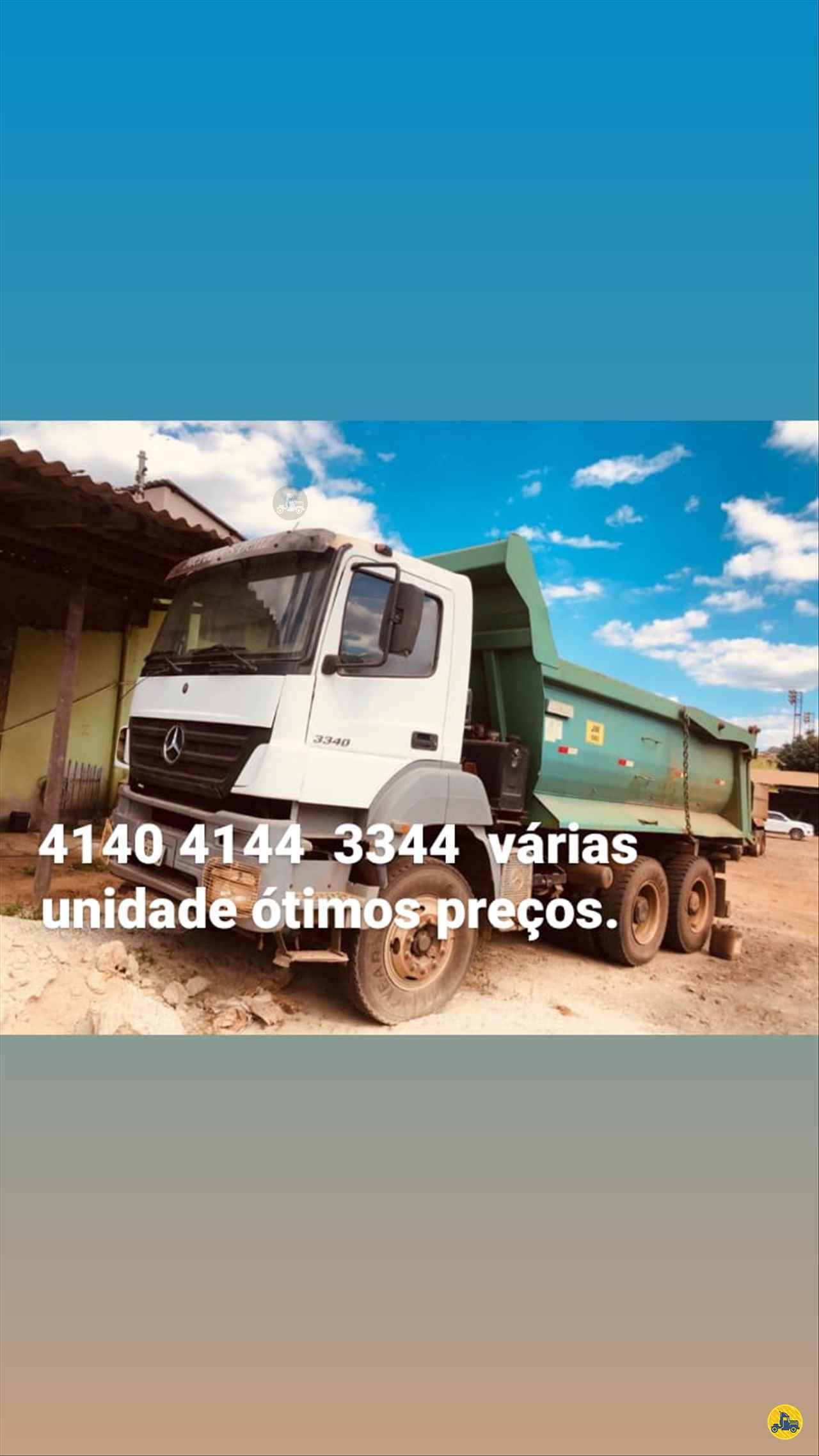 CAMINHAO MERCEDES-BENZ MB 3340 Caçamba Basculante Traçado 6x4 Caminhões Certos CONTAGEM MINAS GERAIS MG