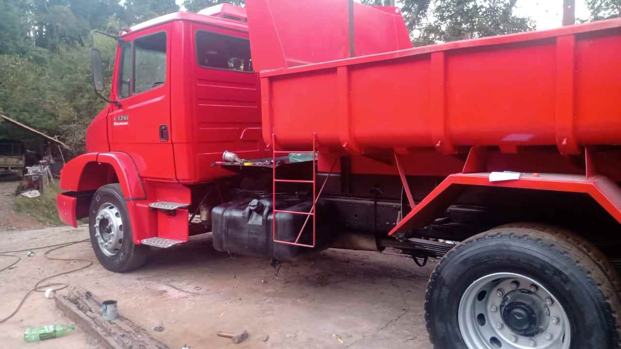 CAMINHAO MERCEDES-BENZ MB 1318 Caçamba Basculante Toco 4x2 Caminhões Certos CONTAGEM MINAS GERAIS MG