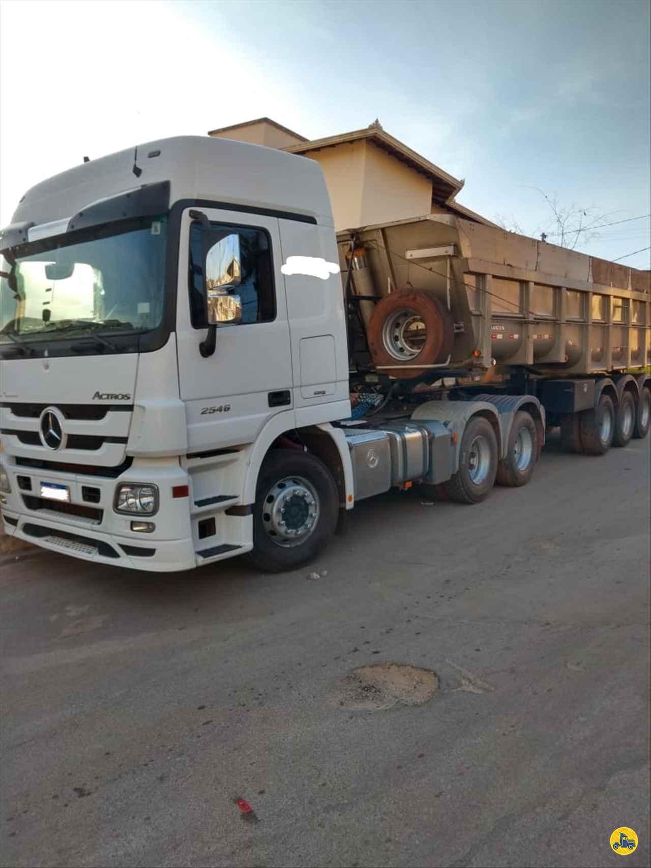 CAMINHAO MERCEDES-BENZ MB 2546 Cavalo Mecânico Truck 6x2 Caminhões Certos CONTAGEM MINAS GERAIS MG