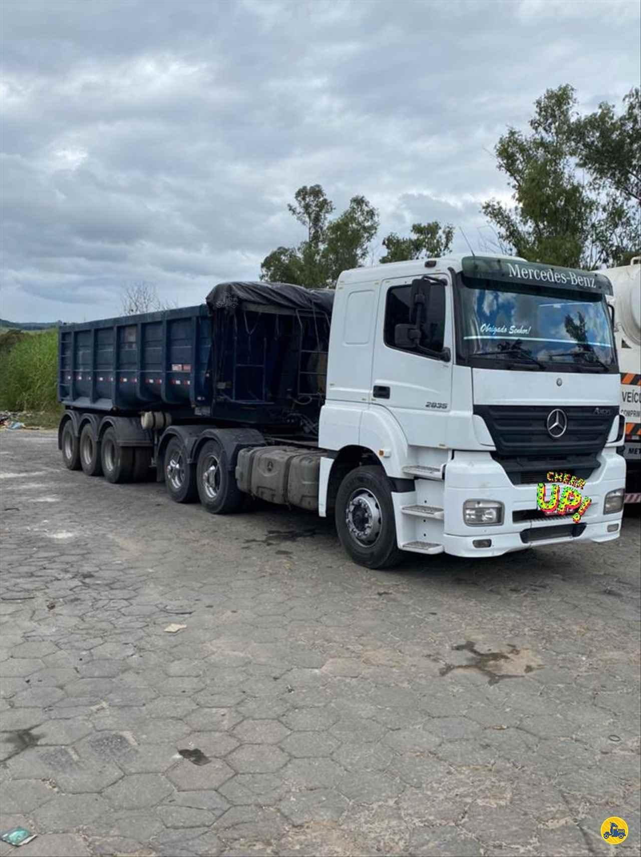 CAMINHAO MERCEDES-BENZ MB 2035 Cavalo Mecânico Truck 6x2 Caminhões Certos CONTAGEM MINAS GERAIS MG