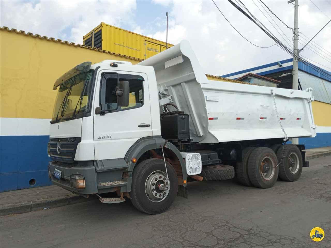 CAMINHAO MERCEDES-BENZ MB 2831 Caçamba Basculante Traçado 6x4 Caminhões Certos CONTAGEM MINAS GERAIS MG