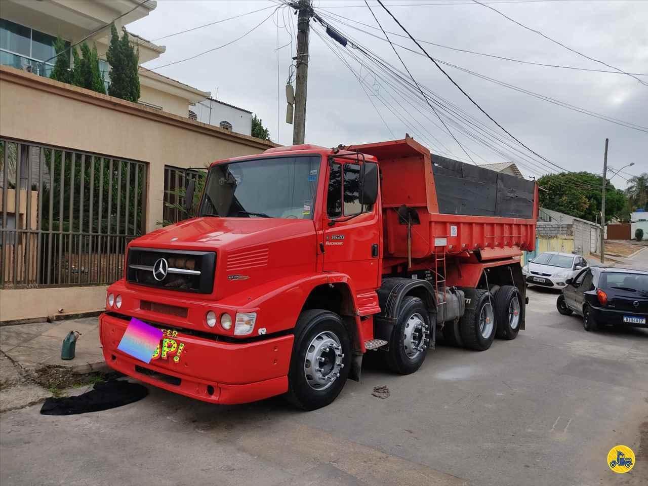 CAMINHAO MERCEDES-BENZ MB 1620 Caçamba Basculante Truck 6x2 Caminhões Certos CONTAGEM MINAS GERAIS MG