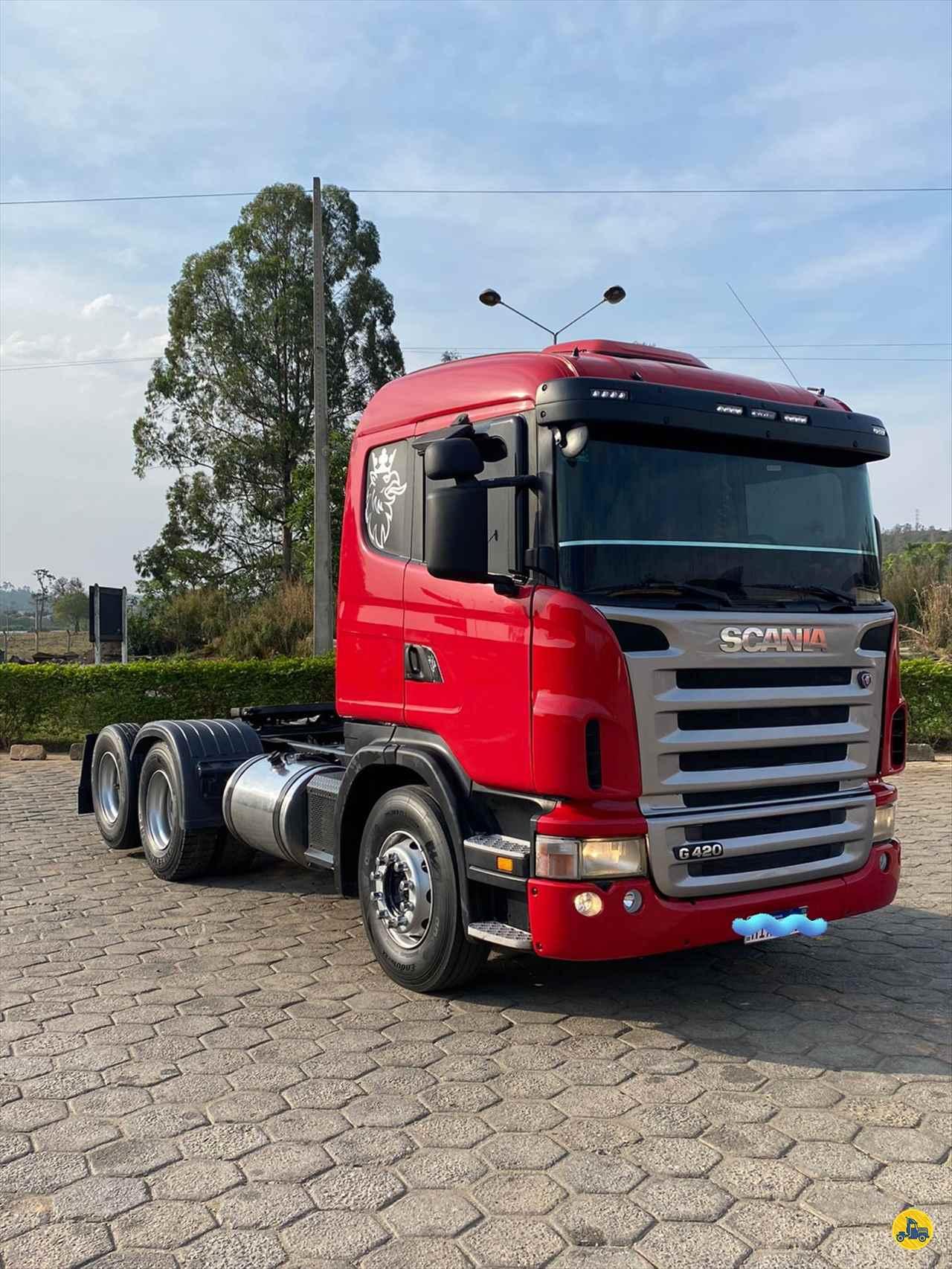 CAMINHAO SCANIA SCANIA 420 Cavalo Mecânico Truck 6x2 Caminhões Certos CONTAGEM MINAS GERAIS MG