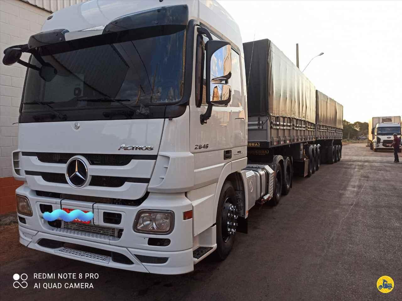 CAMINHAO MERCEDES-BENZ MB 2646 Cavalo Mecânico Traçado 6x4 Caminhões Certos CONTAGEM MINAS GERAIS MG