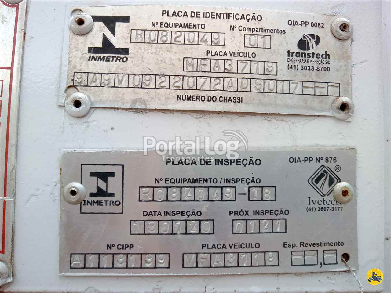 BITREM TANQUE AÇO  2006/2007 Portal Log